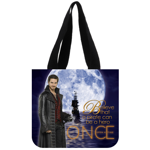 Once Upon A time Captain Hook Tote Bag Design A