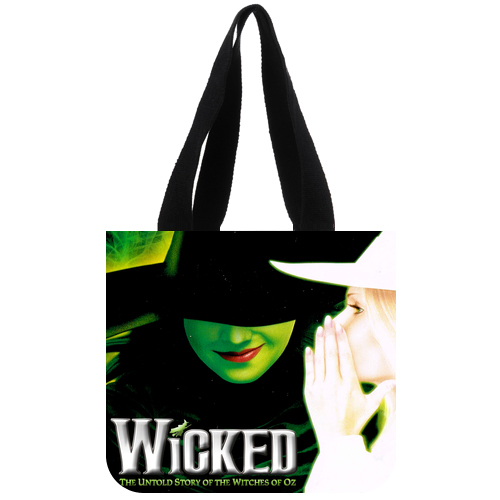 Wicked The Musical Broadway tote bag